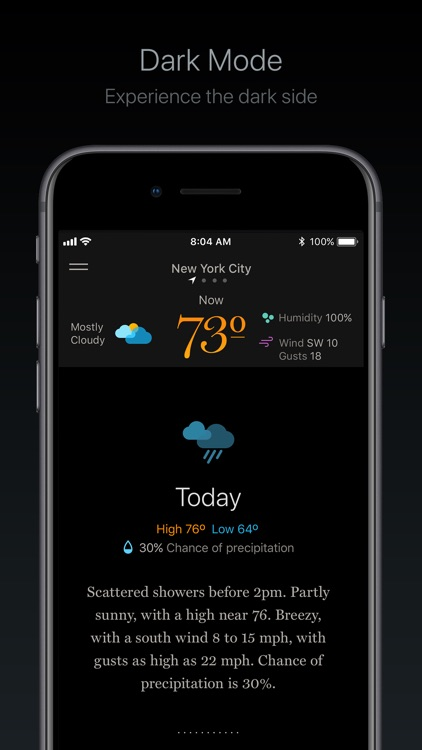 Weather Simple – NWS Forecasts screenshot-4