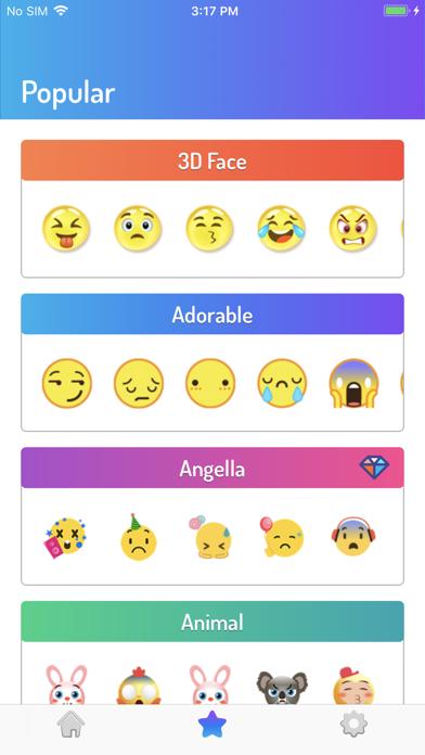 Smartimoji Emojisのおすすめ画像2