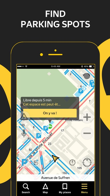 Yandex.Navi – navigation, maps screenshot-3