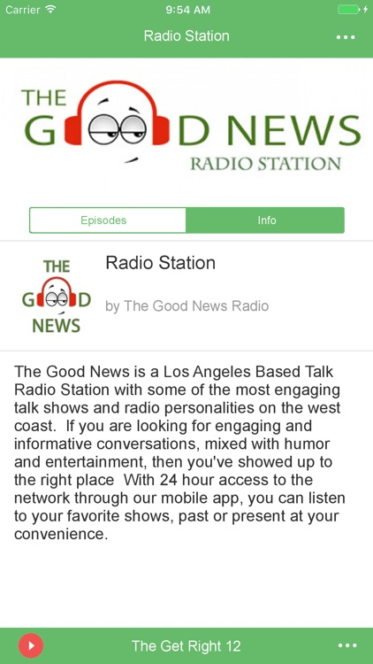 The Good News Radio Station