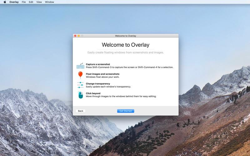 Overlay - Screen Tracing Screenshot