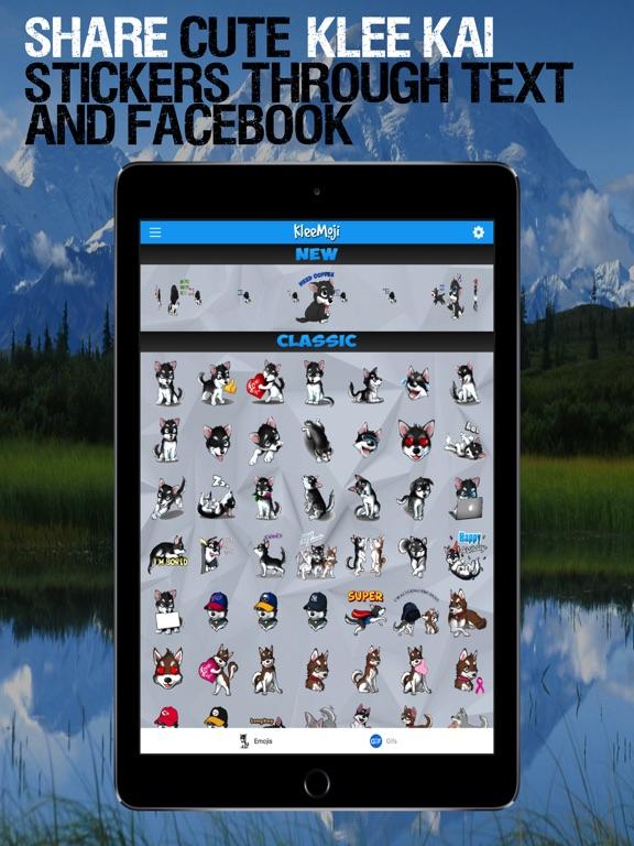 Screenshot #2 for KleeMoji - Keyboard Emoji Pack