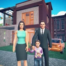 Virtual Happy Family Dad Games
