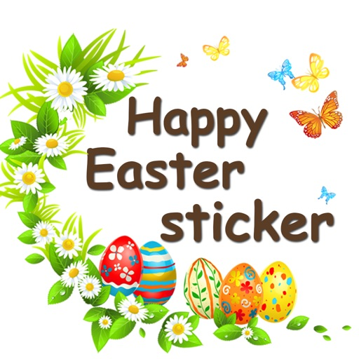 Easter Day Stickers 2018