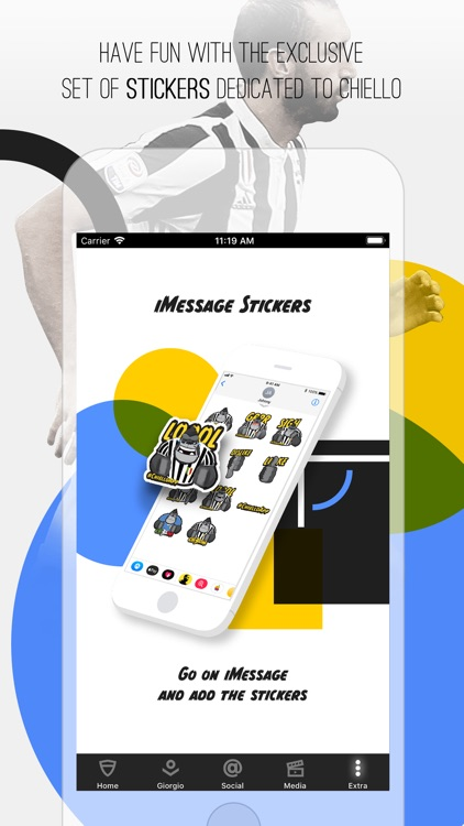 Giorgio Chiellini Official App screenshot-3