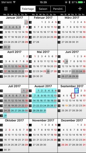 Ipad Feiertage Im Kalender Anzeigen