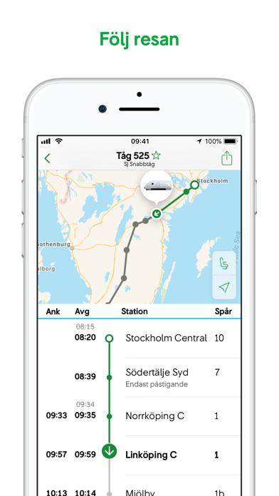 Screenshot for SJ in Sweden App Store