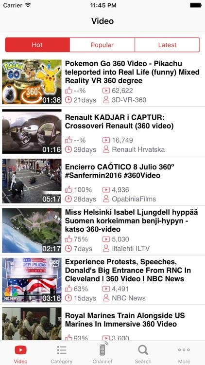 VR Tube - Play Virtual Reality screenshot-3