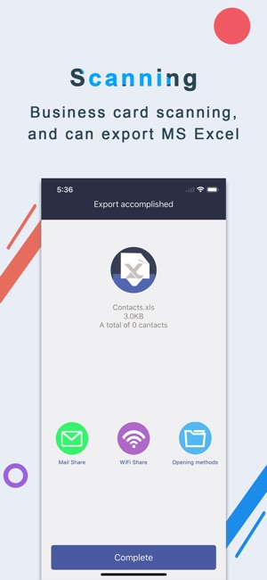 Business card scanner samcard on the app store iphone screenshots reheart Images