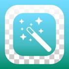 背景透明-背景透過し写真を切り抜きできる写真加工アプリ icon