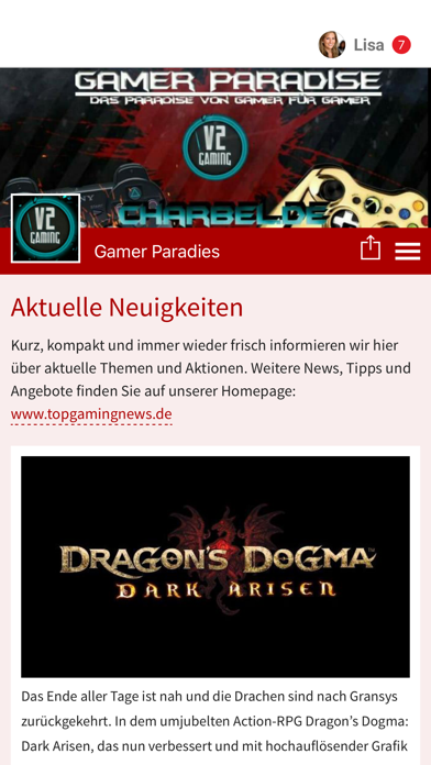 Gaming News screenshot 1