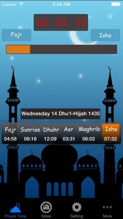 Prayer Time Pro(مواقيت الصلاة) screenshot-0