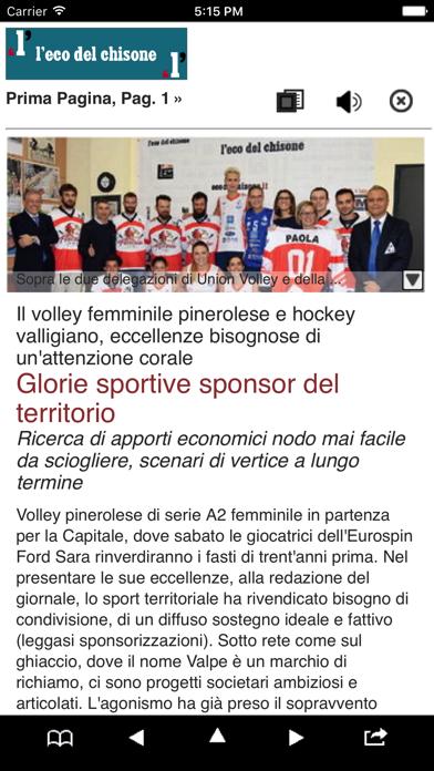 Eco del Chisone screenshot three