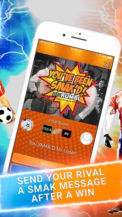 letsRUMBL Daily Fantasy Sports screenshot-3
