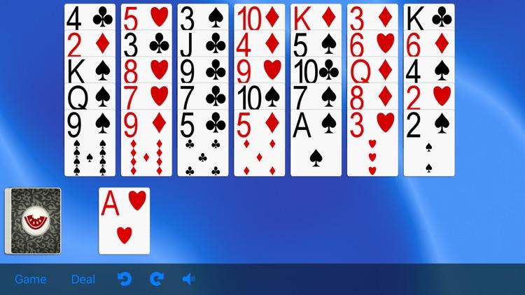 5 Solitaire Games screenshot-3