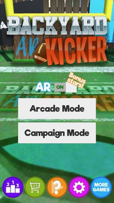 Backyard AR Kicker screenshot 2