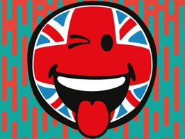 Free pack of 32 Smiley British flag stickers from SmileyWorld