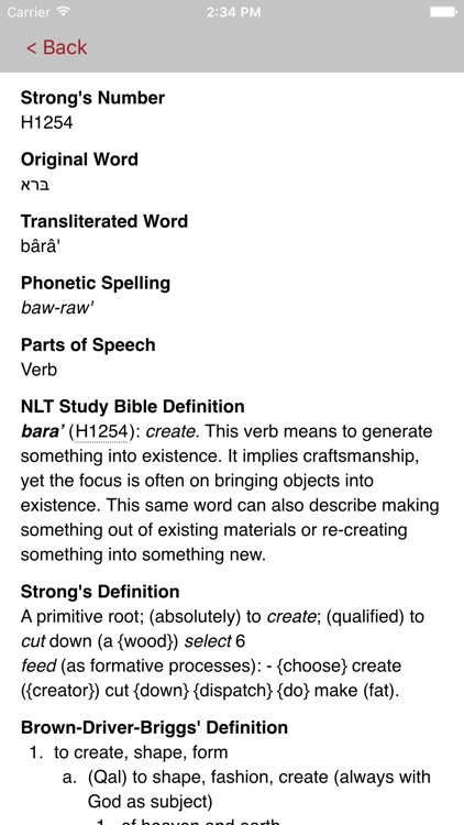 NLT Study Bible screenshot-1