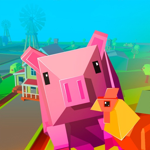 Download Animal Pet Farm Craft free for iPhone, iPod and iPad