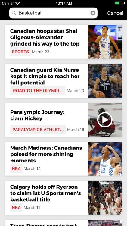CBC Sports screenshot-3