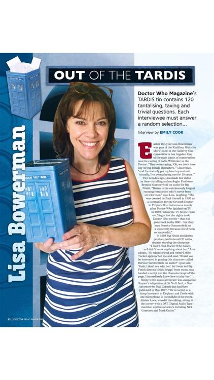 Doctor Who Magazine screenshot-4