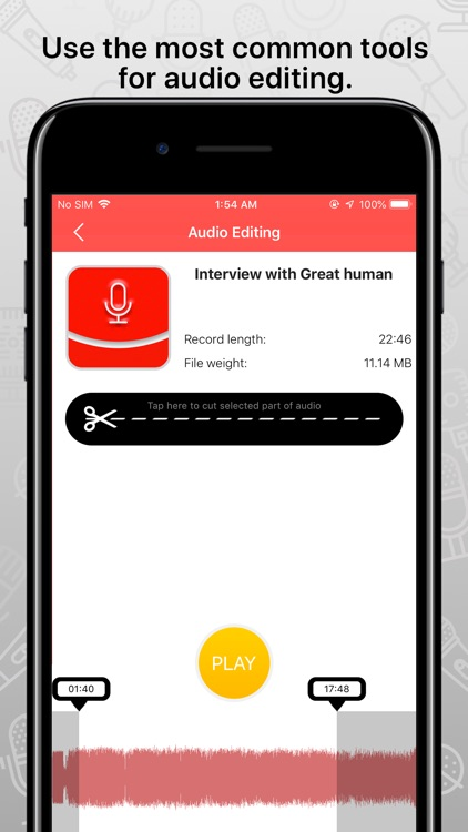 FastRecorder audio recording screenshot-3