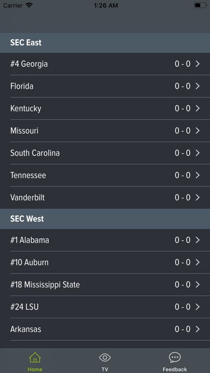 SEC Football Scores and More screenshot-3