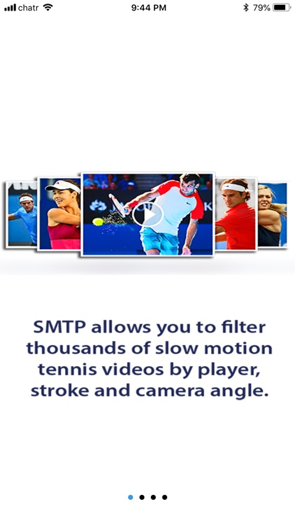 Slow Motion Tennis Pros