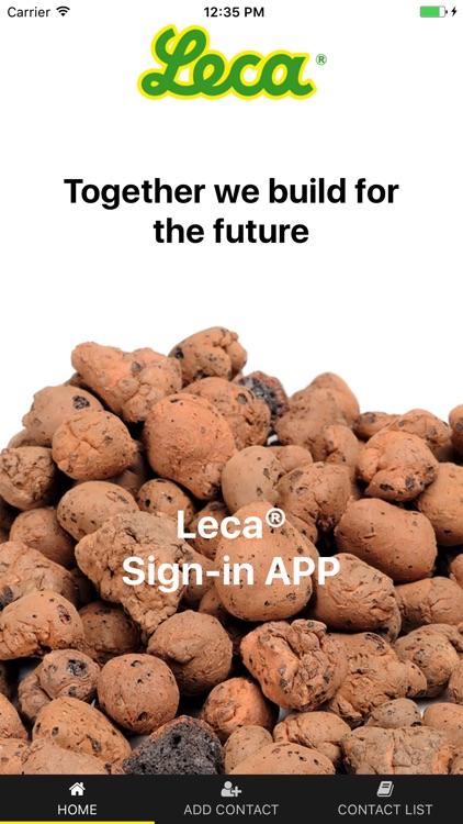 Leca Sign-in