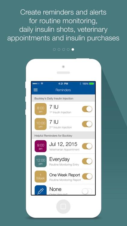 PetDiabetes Tracker Canada screenshot-4
