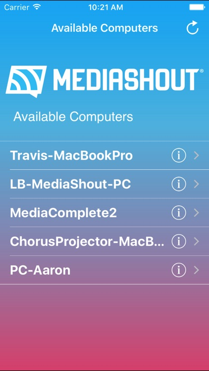 MediaShout Remote screenshot-0