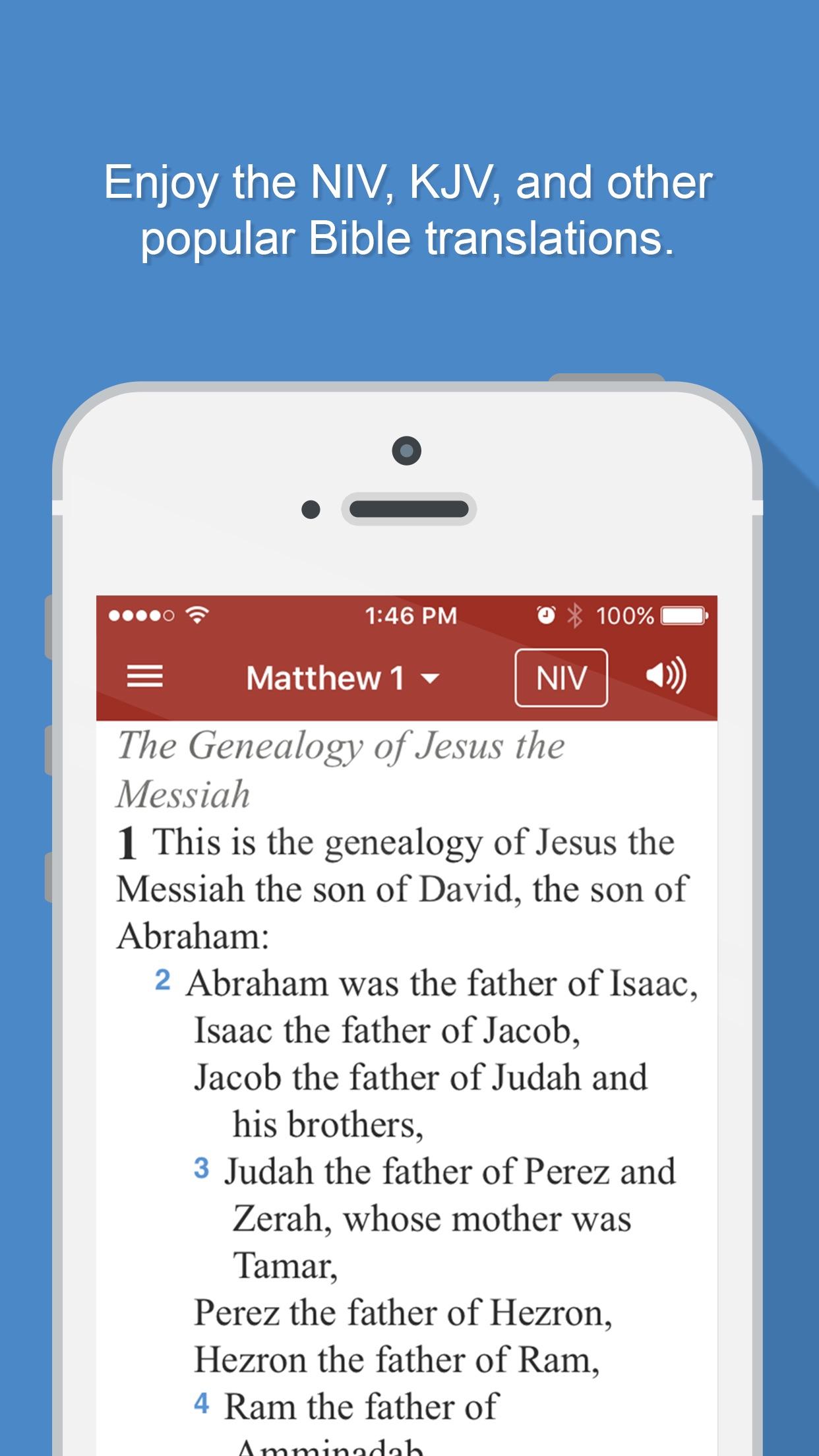 Bible Gateway Screenshot