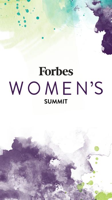 2017 Forbes Women's Summit screenshot 1