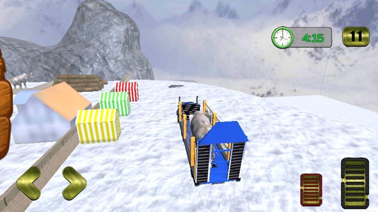 Wild Animals Pickup Transport screenshot-3