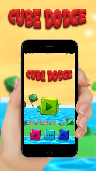cube dodge: Bonus Cube screenshot one