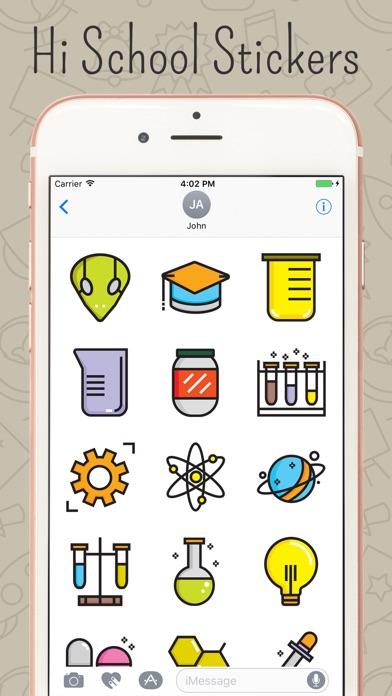 High School & Graduation Stickers Screenshot