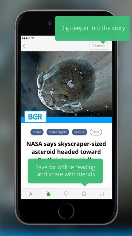 News360: Personalized News screenshot-3