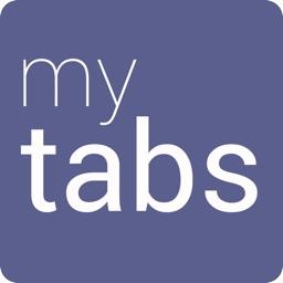 myTabs - database