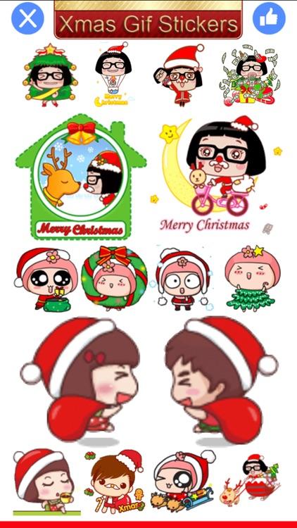 Xmas Gif-Christmas Gif Sticker screenshot-4