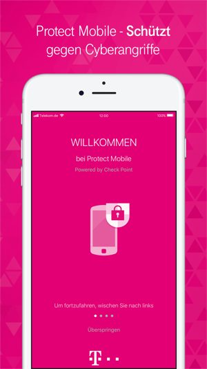 telekom protect mobile im app store. Black Bedroom Furniture Sets. Home Design Ideas