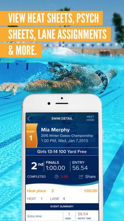 Meet Mobile: Swim screenshot-3