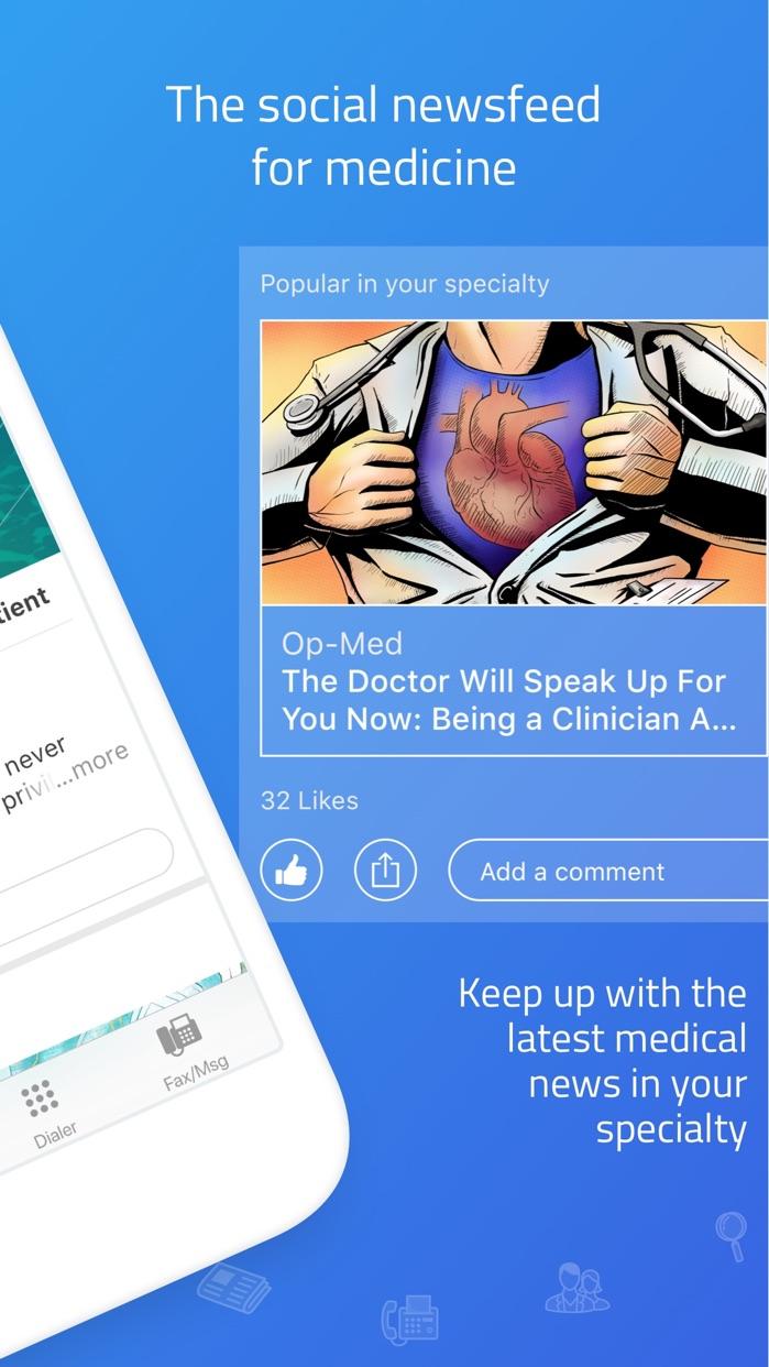 Doximity - Medical Network Screenshot