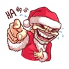 Christmas Santa - Xmas Sticker Reviews