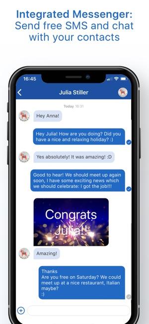 alles in einem Social Media App iPhone