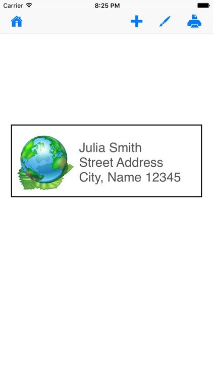 Mailing Label Designer
