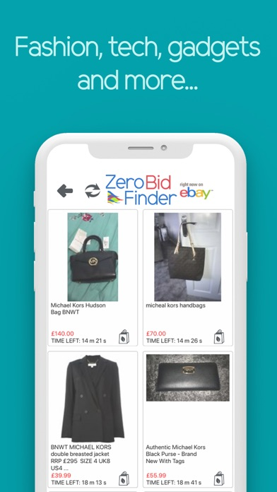 Zero Bid Finder for eBay Plus Screenshot