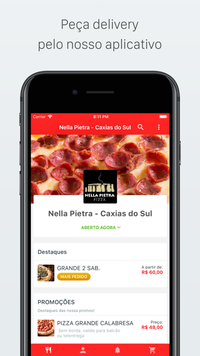 Screenshot for Nella Pietra Delivery in Ukraine App Store