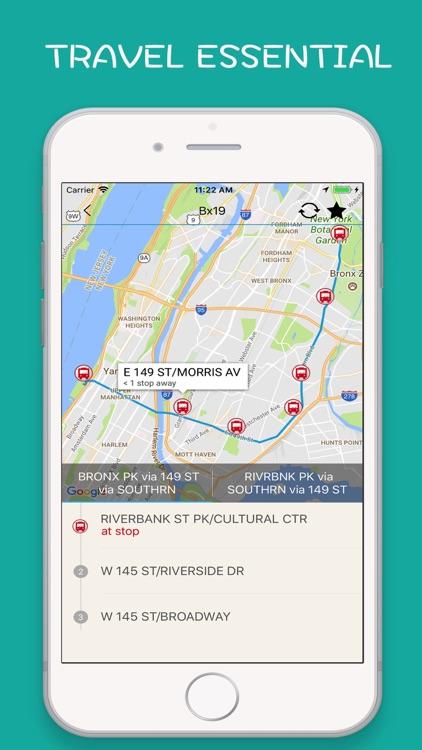 NYC Subway, Bus, Rail New York screenshot-0