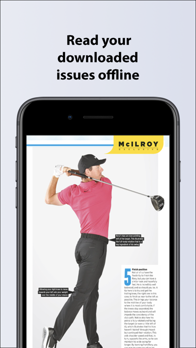 Golf Monthly Magazine screenshot three