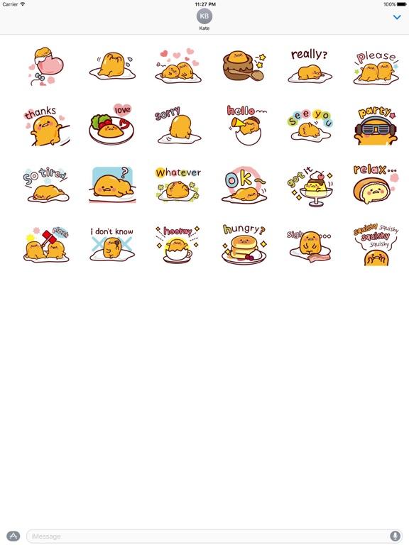 Animated Cute Tiny Egg Sticker screenshot 3